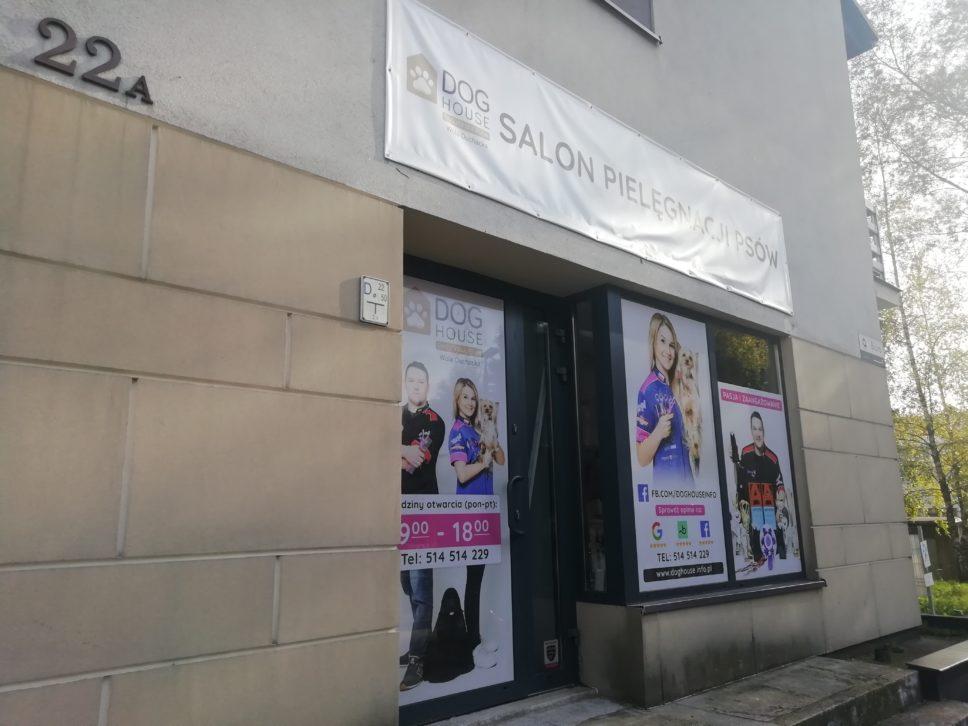 Dog House Fryzjer dla psów ul. Beskidzka 22A, Kraków - monitoring
