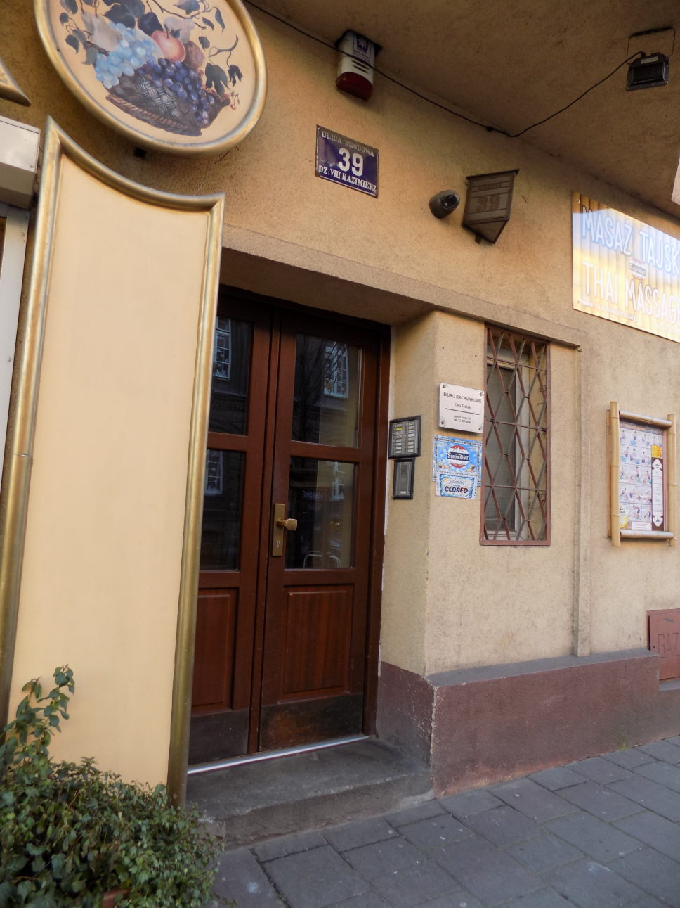 Kamienica ul. Miodowa 39, Kraków - monitoring